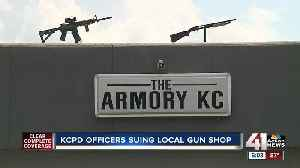 KCPD officers sue Independence gun store that sold firearm to a convicted felon [Video]