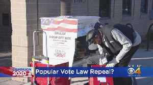 Colorado Voters To Decide Whether State Should Repeal National Popular Vote Law [Video]