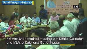 HM Amit Shah holds meeting at his LS constituency in Gujarat [Video]