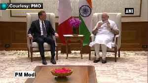 PM Modi meets French President's advisor Emmanuel Bonne [Video]