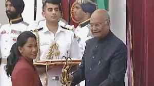 Deepa Malik gets Khel Ratna; Swapna Barman, Sai Praneeth get Arjuna Award [Video]