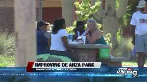 Residents join TPD and Parks and Rec to talk De Anza Improvements [Video]