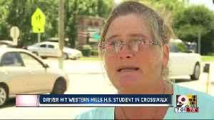 PD: Driver ran red light, hit Western Hills University High School student in crosswalk near school [Video]