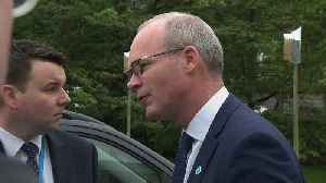 "Coveney: Boris Johnson has not put forward a ""credible"" replacement for the backstop [Video]"