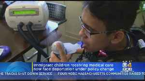 Immigrant Children Receiving Medical Care Now Face Deportation Under Policy Change [Video]