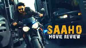 Saaho is Prabhas 2.0 with action overloaded but no story [Video]