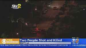 Man, Woman Shot And Killed In South LA [Video]