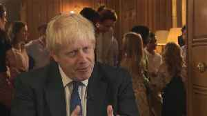 News video: Boris Johnson warns against opposing his Brexit plan