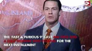 Vin Diesel and John Cena share 'intense' scene [Video]