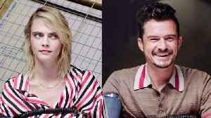 Cara Delevingne and Orlando Bloom Take a Lie Detector Test [Video]