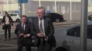 Michael Gove watches no-deal Brexit practice run in Calais [Video]