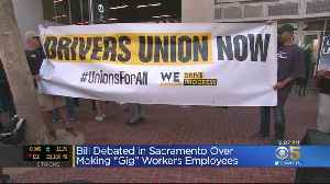 Debate Over Gig Worker Measure Continues In Sacramento [Video]