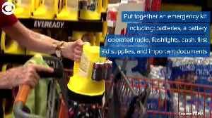 News video: WEB EXTRA: Hurricane Prep Tips