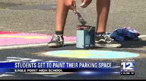 EPHS Parking Spot Painting [Video]