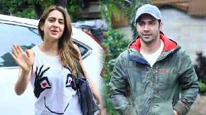 Coolie No 1 | Sara Ali Khan and Varun Dhawan SWEETEST GESTURE Caught On Camera [Video]