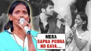 Ranu Mondal First INTERVIEW After Teri Meri Kahani Success | Himesh Reshammiya [Video]
