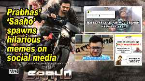 Prabhas' 'Saaho' spawns hilarious memes on social media [Video]