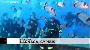 World War Two veteran breaks own scuba diving record at 96 [Video]