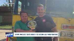 UFC Heavyweight Champion Stipe Miocic stays humble, gets back to work at Valley View Fire Department [Video]