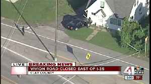 Man injured, vehicle crashes into house at Clay County OIS [Video]
