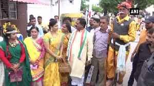 CM Bhupesh Baghel takes part in Teej and Pola festival celebration in Raipur [Video]
