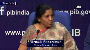 Gross NPAs down to Rs 7.90 lakh crore from Rs 8.65 lakh crore FM Sitharaman [Video]