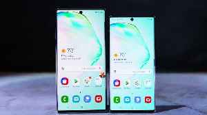 Samsung Galaxy Note 10 vs. Note 10 Plus [Video]