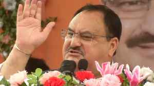 BJP world's largest party, breaks its own records: Working president JP Nadda [Video]