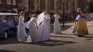 Ellie Goulding marries Caspar Jopling in York [Video]
