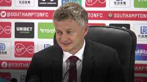 Solskjaer: United must start taking chances [Video]