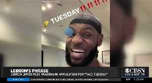 LeBron James Files Application To Trademark 'Taco Tuesday' [Video]