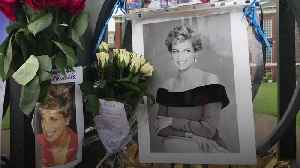 Fans gather at Kensington Palace to mark anniversary of Diana's death [Video]