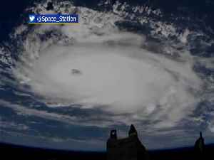 WEB EXTRA: Hurricane Dorian: Saturday's View From Space [Video]