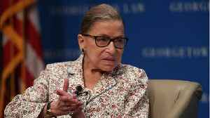 U.S. Justice Ginsburg Is Recovering And Has No Plans To Step Down [Video]
