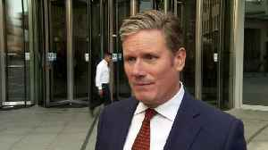 Starmer: Last chance for MPs to stop no-deal Brexit [Video]