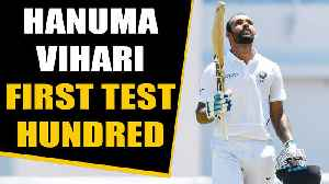 India vs West Indies: Hanuma Vihari hits first test century, Gives credit to Ishant | Oneindia News [Video]