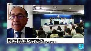 Hong Kong Protests: Activists Joshua Wong and Agnes Chow Granted Bail [Video]
