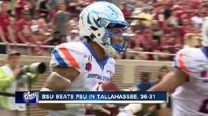 BSU defeats FSU in Tallahassee season opener [Video]