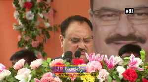 World's largest party BJP is breaking its own records JP Nadda [Video]