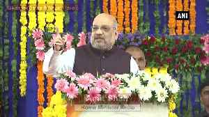 Article 370 Last nail in coffin of terrorism has been laid said Amit Shah [Video]