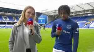 Iwobi enjoying his time at Everton [Video]