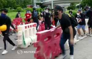 Protesters target airport after Hong Kong violence [Video]