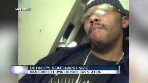 Family of innocent bystander shot, killed at Detroit gas station pleads for justice [Video]