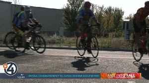Firefighters bike 16K miles to raise money for injured veterans [Video]