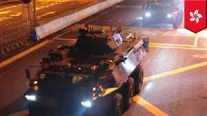 China deploys troops into Hong Kong in 'routine rotation' [Video]
