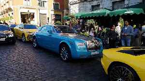 Trio of supercars in London's Covent Garden get parking tickets [Video]