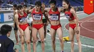 Chinese medal-winning female runners accused of being dudes [Video]