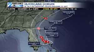 Labor Day STorms, Dorian Latest [Video]