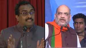 3 nation theory decimated says Ram Madhav, Amit Shah targets Rahul Gandhi [Video]