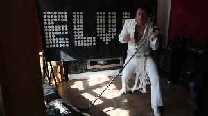 Elvis impersonator fined £9k for singing at home [Video]